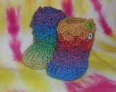 Baby Booties For Year of the Dragon Babies