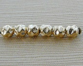 14kt Gold Filled Beads, Bumpy  3mm Round Goldfill Bead, 10 qty