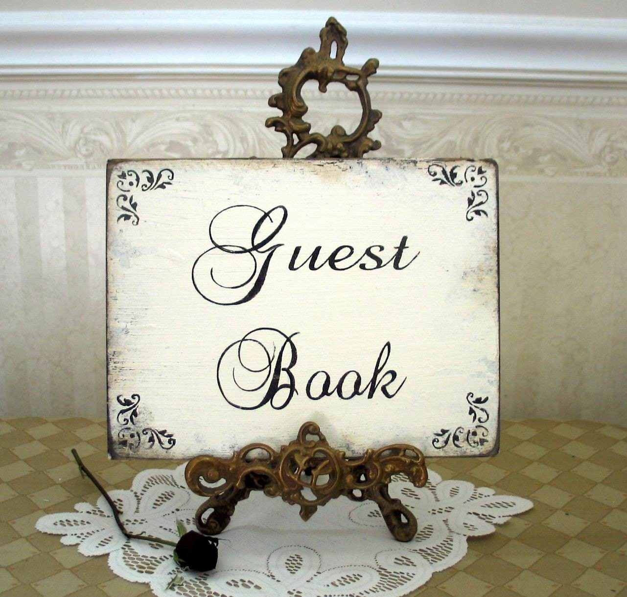 Wedding Guest Book Where It S Your Guests That Sign Their: GUEST BOOK WEDDING Sign In For Guest Book Or Sign Shabby Sign