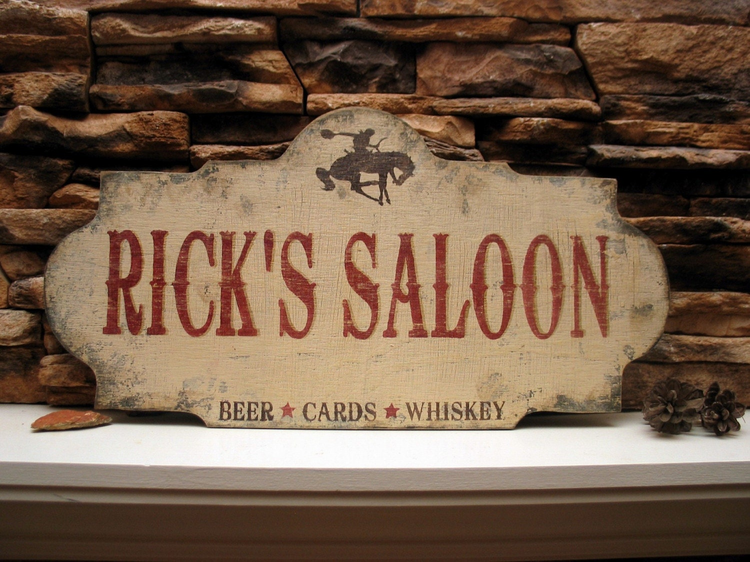 Personalized Custom Saloon Sign Signsbydiane