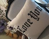 Love You pillow-slip