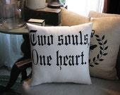 Two Souls pillow