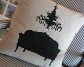 Chandelier/French Settee pillow