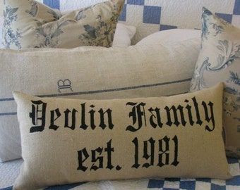 The Family pillow