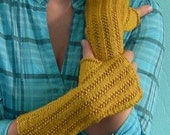 Harvest Mitts Knitting Pattern design by Amanda Jensen