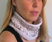 Knitting Pattern, Coffee House Cowl by Amanda Jensen