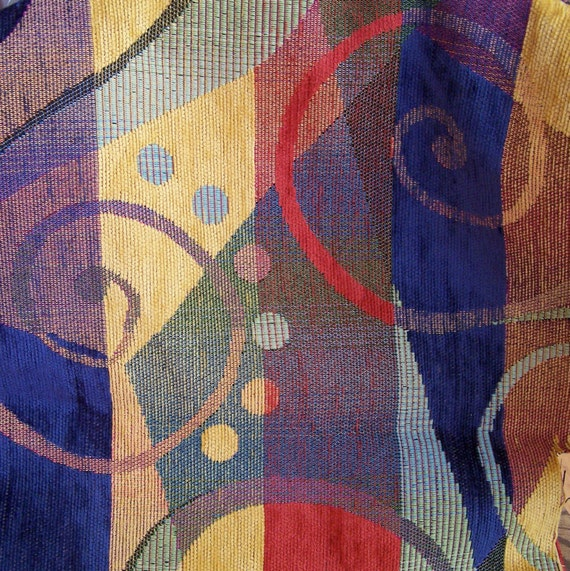 Home Dec Fabric - WOW Multicolor Abstract print
