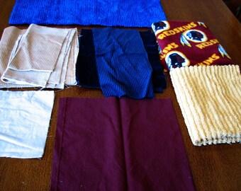 DESTASH-Autumn color fabric scrap pack