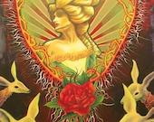 Beauty's Lair giclee print
