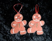 Gingerbread Candy Cane Holders