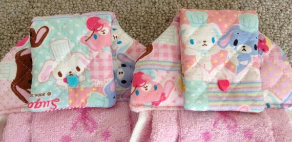 Hanging Kitchen Towel - SugarBunnies by Sanrio - Set of 2 - SALE