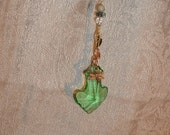 Green Faery Rainbow Dancer Window Hanging Crystal