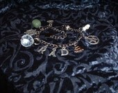 Reserved for VelvetKitty, Rad Traveling Amulet and Wellbeing Bracelet