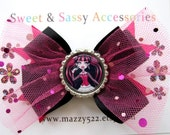 Monster High Draculaura Bottle Cap Hair Bow