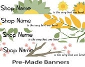 Relax Your Mind-PreMade Banner and Avatar Set
