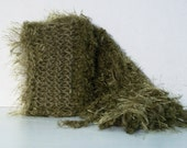 Handmade Knit Scarf Outstanding Olive