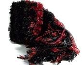 RESERVED Velvet Fluff Knit Scarf