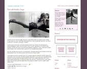 Jennifer - Premade Blogger Template