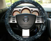 U S Navy Digital Camo Steering Wheel Cover