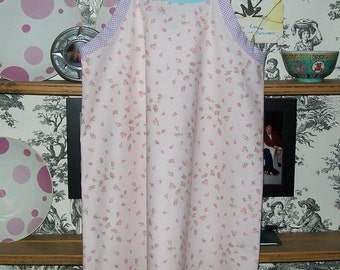 Nightgown / Simple Slip  in Cotton or Flannel