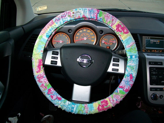 Lilly Pulitzer Car Steering Wheel Cover