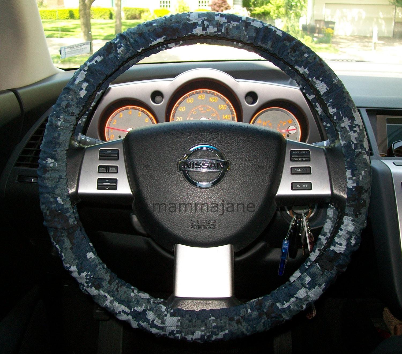 U s navy digital camo steering wheel cover for Paracord steering wheel wrap