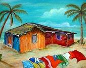 Island Hut - Andros Island Bahamas