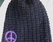 peace hat, beanie