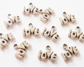 15 Love Charms 12x11mm Item:A19