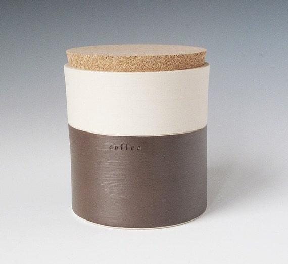 SALE - coffee jar