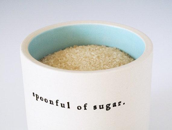 spoonful of sugar. (aqua)