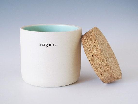 sugar jar.