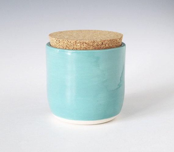 cork jar.
