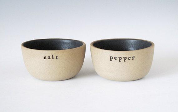 salt and pepper bowls.