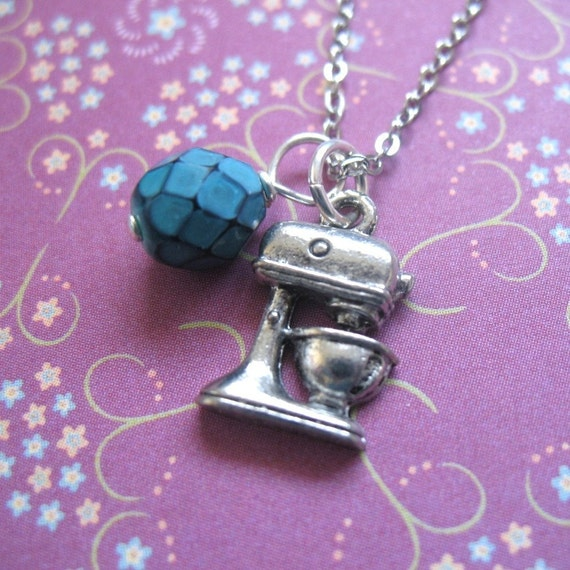 Mix It Up - Stand Mixer Charm Necklace. FREE SHIPPING US \/ CANADA