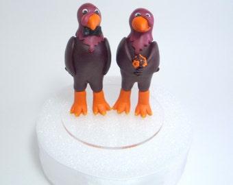Handmade Custom Mascot Cake Toppers