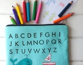 The Alphabet Pouch---Last One