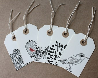 Tags - Assorted Set of 5