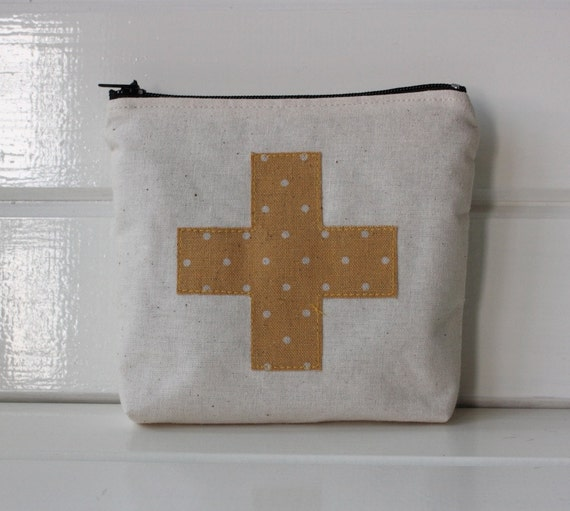 First Aid Pouch- Yellow