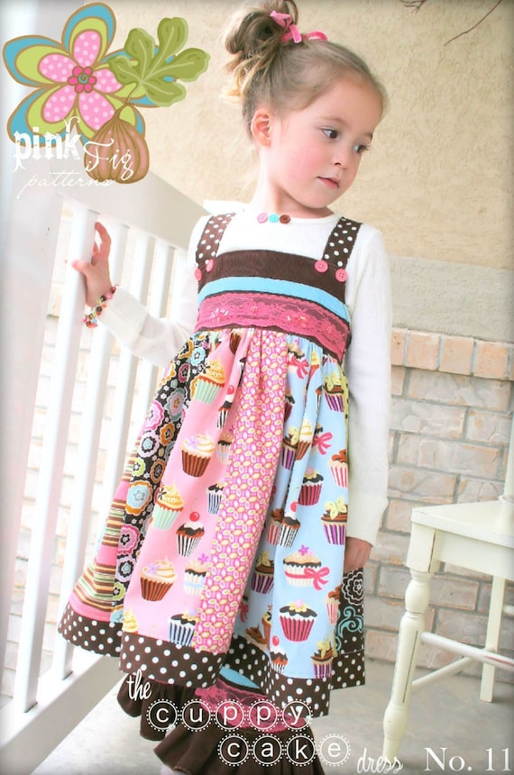 The Cuppy Cake Dress by Pink Fig Patterns, plus FREE Shipping with any other purchase