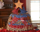 Yeehaw :-)  Cowboy or Cowgirl Diaper Cake for Baby Shower