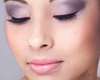 Der Look - Pretty in Purple - vier 5 Gramm Sieb Gläser Lidschatten zu erhalten