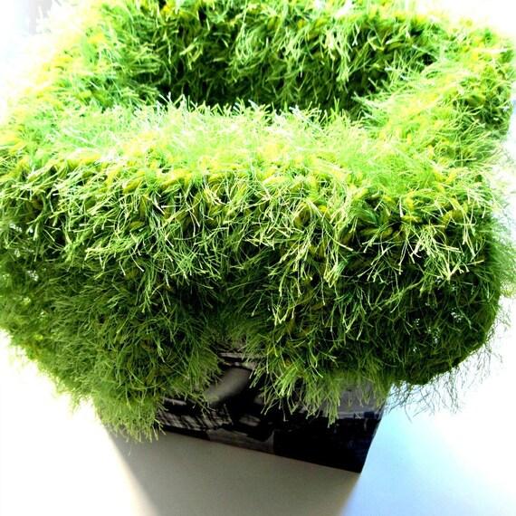 Back Drop Mat Green Grass Blanket Furry Rug Photography