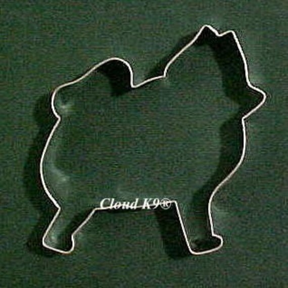 Pomeranian, Keeshond Dog COOKIE CUTTER for Cookies, Dog Biscuits, Treats, Birthday Party Cookies, Crafts (Hand Soldered) Chow Chow