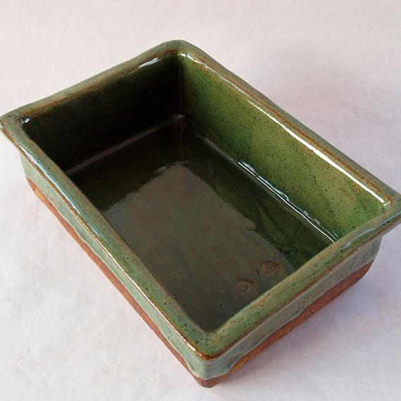 Ceramic baking dish handmade stoneware