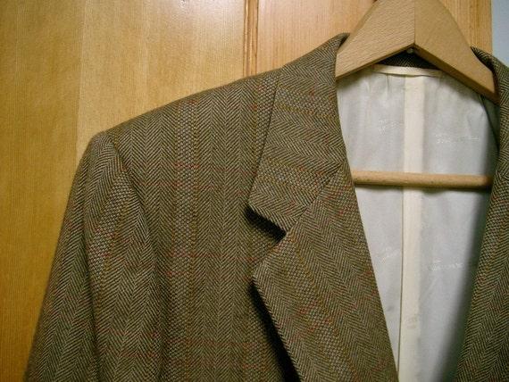 Vintage Mens Cashmere Sport Coat Blazer Franck Namani Paris