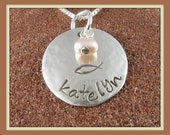Ichthus Pendant- Personalized