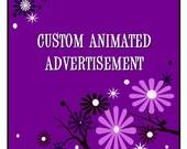 Animated Digital Advertisement