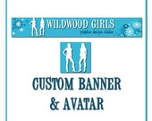 Custom Banner for Etsy shop or Blog