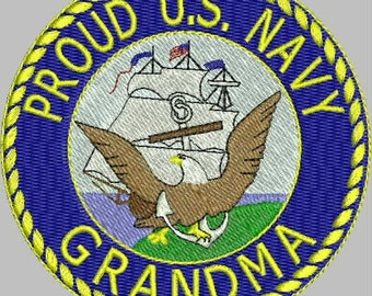 MILITARY HONOR Navy Embroidery Design Collection